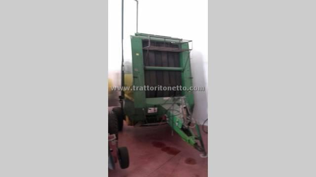 trattore usato varie ROTOPRESSA JOHN DEERE 550
