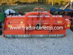 trattore usato varie TRINCIA MAIS MOD.TERRE 2.30MT