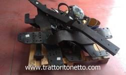 trattore usato varie STAFFATURA PER PALA MAILLEUX 120