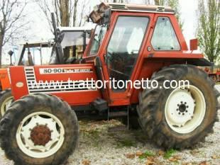 Vendita trattore usato fiat fiat 8090 for Attrezzi agricoli usati piemonte