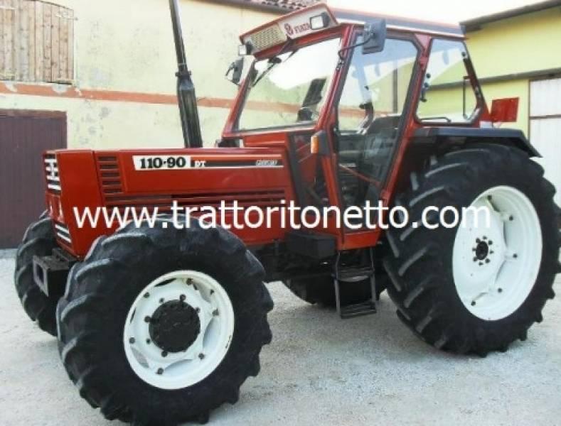 vendita trattore usato fiat 110 90, 110 hp,1990
