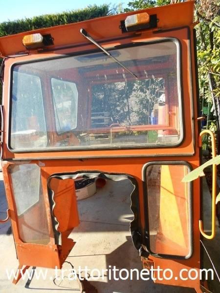 vendita trattore usato fiat cabina italcab per fiat 640,