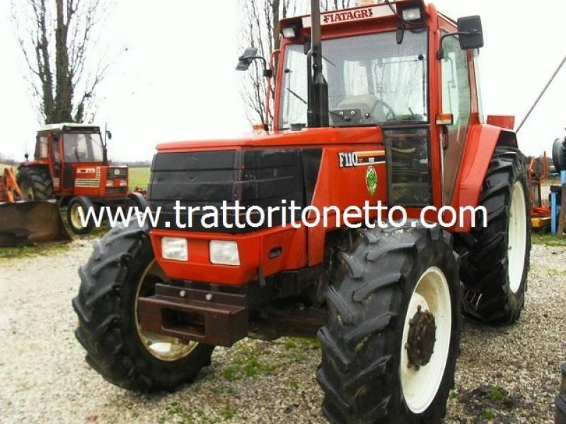 vendita trattore usato fiat f 110 dt, ,1993