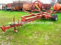 trattore usato varie CARRELLO PORTA BARRA MOD. MENCI